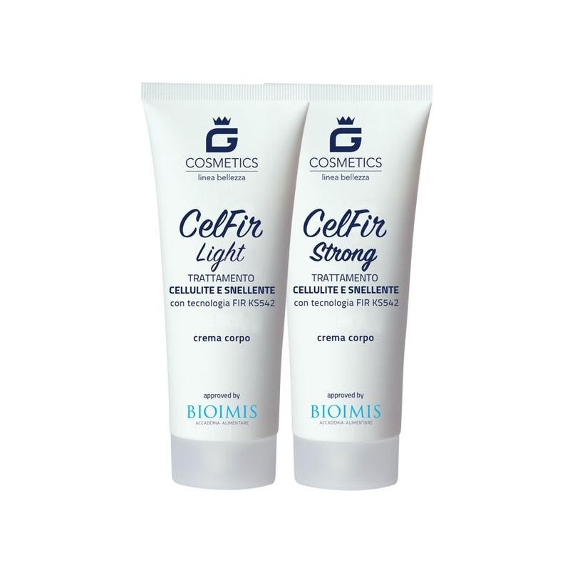 CelFir - Crema Cellulite snellente - 2 Tubi da 200 gr