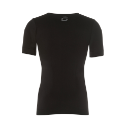 T-SHIRT SLIM Uomo nero - DM...