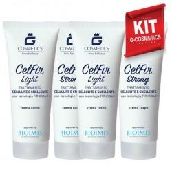 KIT Celfir - Creme Cellulite Snellente
